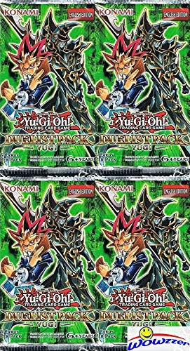 Yugioh Duelist Pack YUGI (DPYG) Lot of FOUR(4) Unsearched Factory...