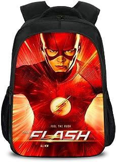 JKAINI Mochilas para Niños The Flash Printed Student Backpack,A-OneSize