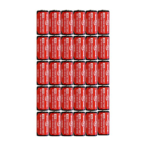 5 X Surefire 6 Pack 123A Lithium Batteries