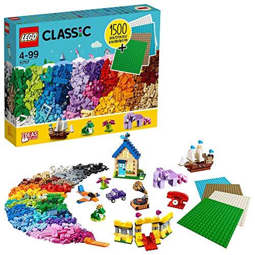 lego classic 2020 LEGO Classic 11717 - Scatola di pietre extra large con piastre da costruzione