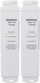 Bosch 9000194412 Ultra Clarity Refrigerator Water Filter, 2-Pack