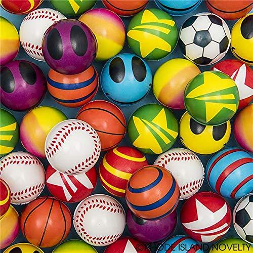 Rhode Island Novelty Stress Balls Bulk Value Assortment (50 Pack)