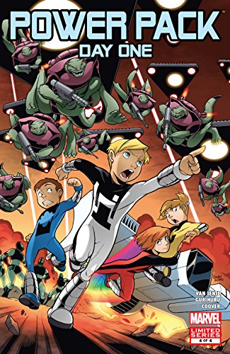 Power Pack: Day One (2008) #4 (of 4) (English Edition) eBook: Van ...
