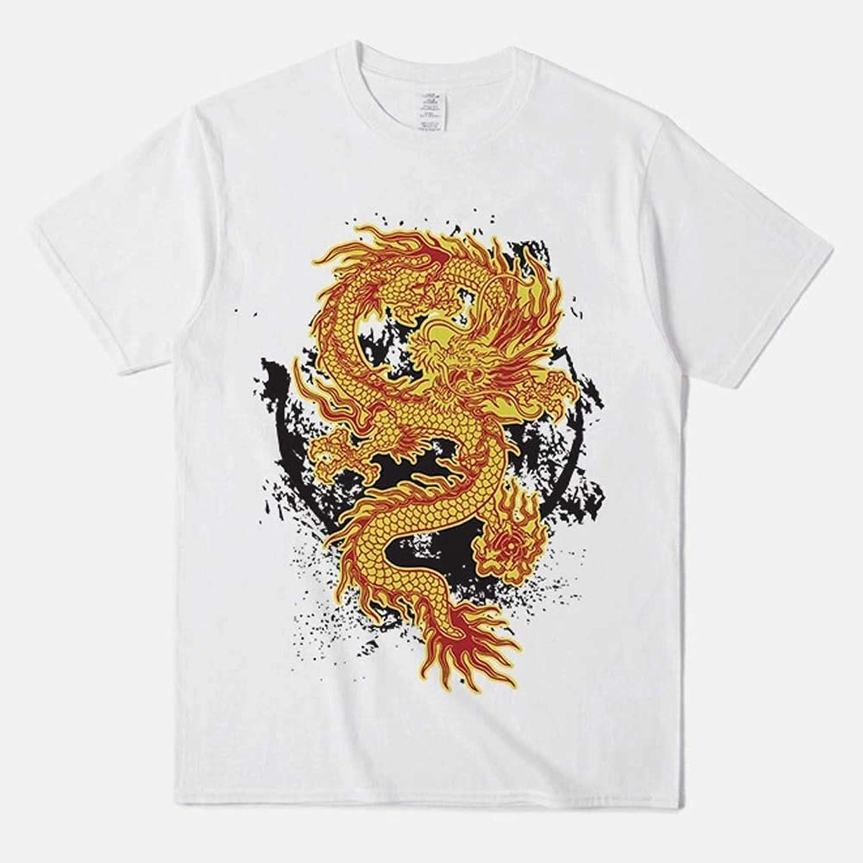AUHUAt Herren Kompressionshemd Sport und Fitness Baumwoll-T-Shirt,XL