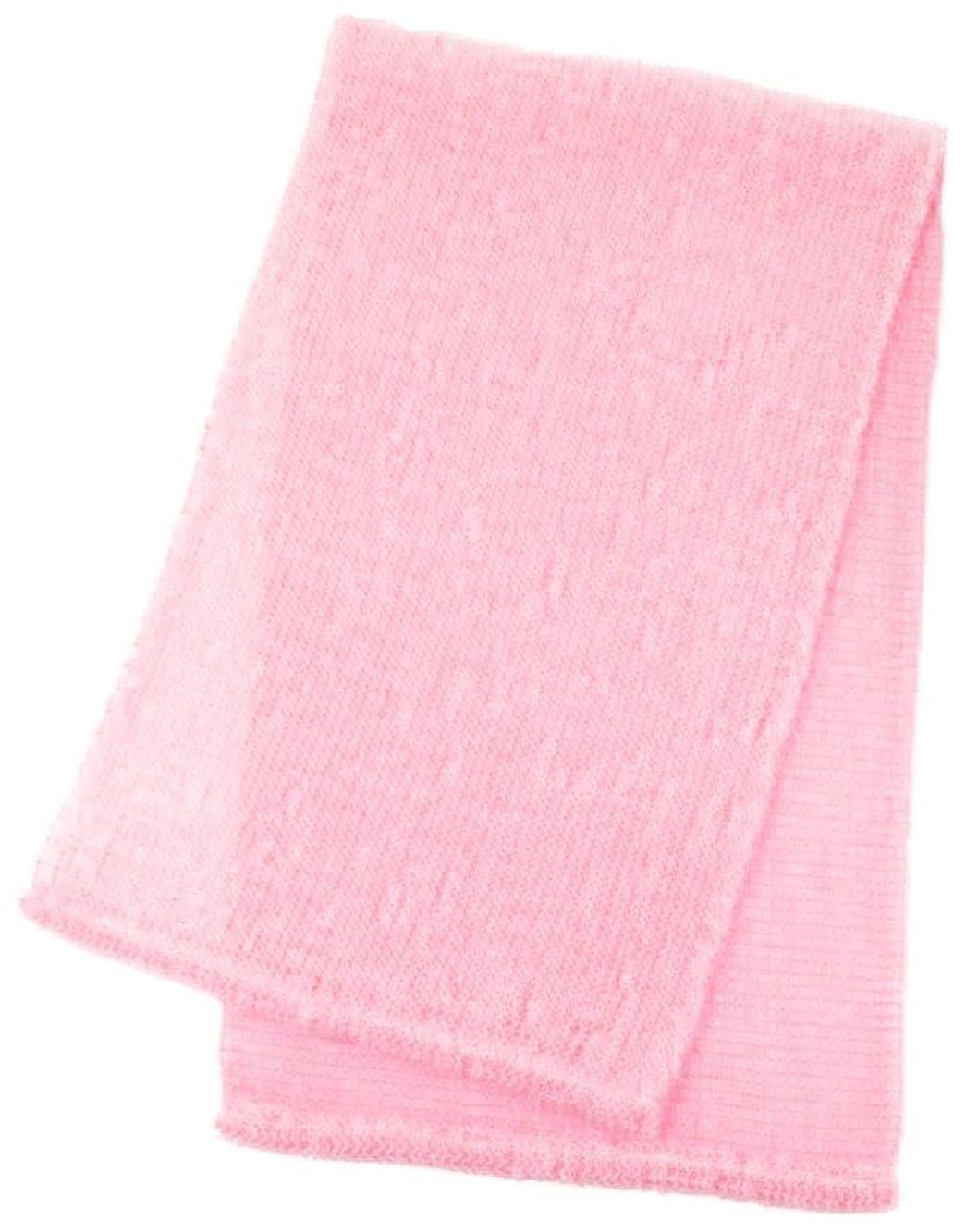 標高ビーズゲージマーナ ボディタオル 「泡工場」 ピンク B557P