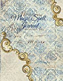 Magic Spell Journal: New Moon & Full Moon Intentions Journaling Notebook - Grimoire