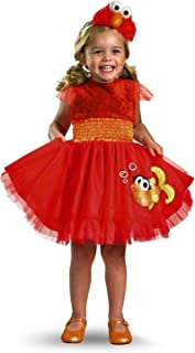 Frilly Elmo Toddler Costume - Toddler Small