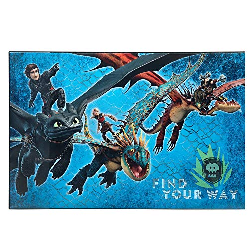 Dragons Kinder Schreibtisch-Unterlage 38 x 58 cm | Schreibunterlage