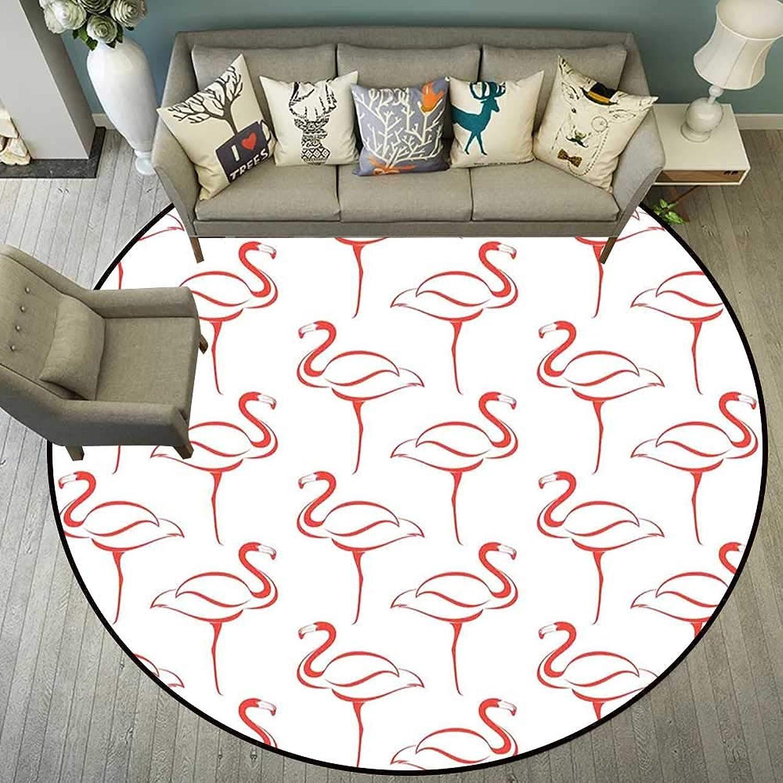 Circle Floor mat Door Round Indoor Floor mat Entrance Circle Floor mat for Office Chair Wood Floor Circle Floor mat Office Round mat for Living Room Pattern 4'11  Diameter