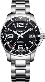HydroConquest Black Dial Automatic Mens Watch L3.741.4.56.6