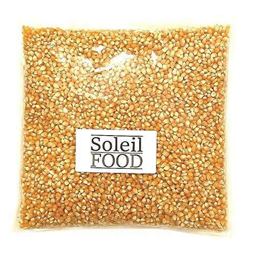 2 kg Popcorn Mais Mais Maiskörner Popcorn zum selber machen feinste Qualität GMO frei Soleilfood