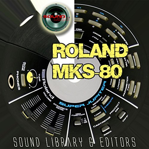 Save %29 Now! for ROLAND MKS-80 Original Factory & NEW Created Sound Library & Editors on CD or down...