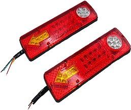 Homyl 2X LED Carro Caminhão Reboque Luzes Traseiras Indicador de Sinal de Volta Lâmpada de Parada