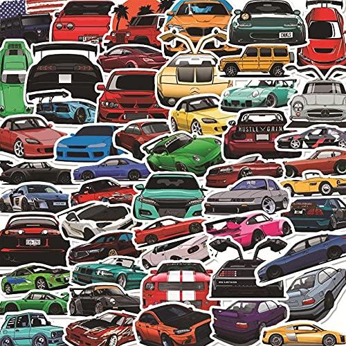 MBGM 100 piezas de carreras graffiti pegatinas tendencia coche carro caso impermeable portátil pegatinas decorativas pequeños patrones