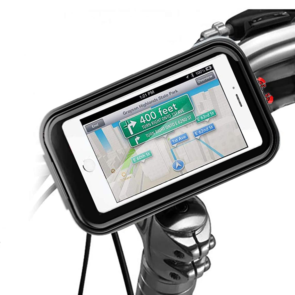 Bike Front Phone Bags Waterproof Front Frame Top Tube Mount Cycling Phone Holder Case with Sensitive Touch Screen Road Mountain Bicycle Handlebar Storage Bags Below 6.2'' Cellphone iPhone 6 7 8 Plus X