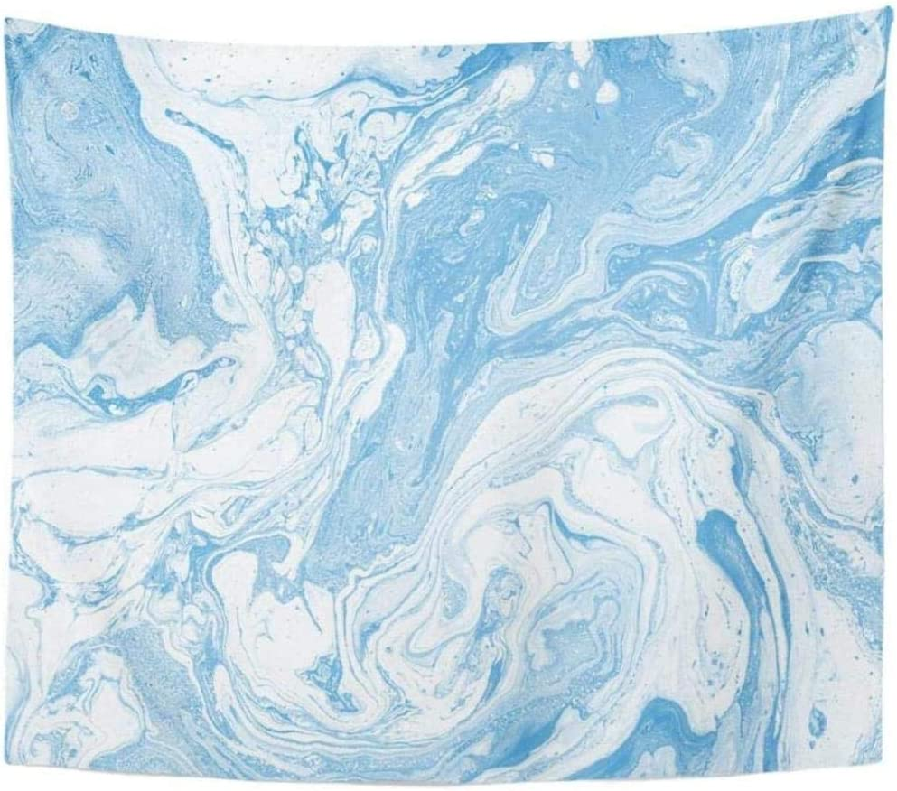 aksldf Tapestry Light Minneapolis Mall Blue and Colours Abstract Beautiful Max 84% OFF White