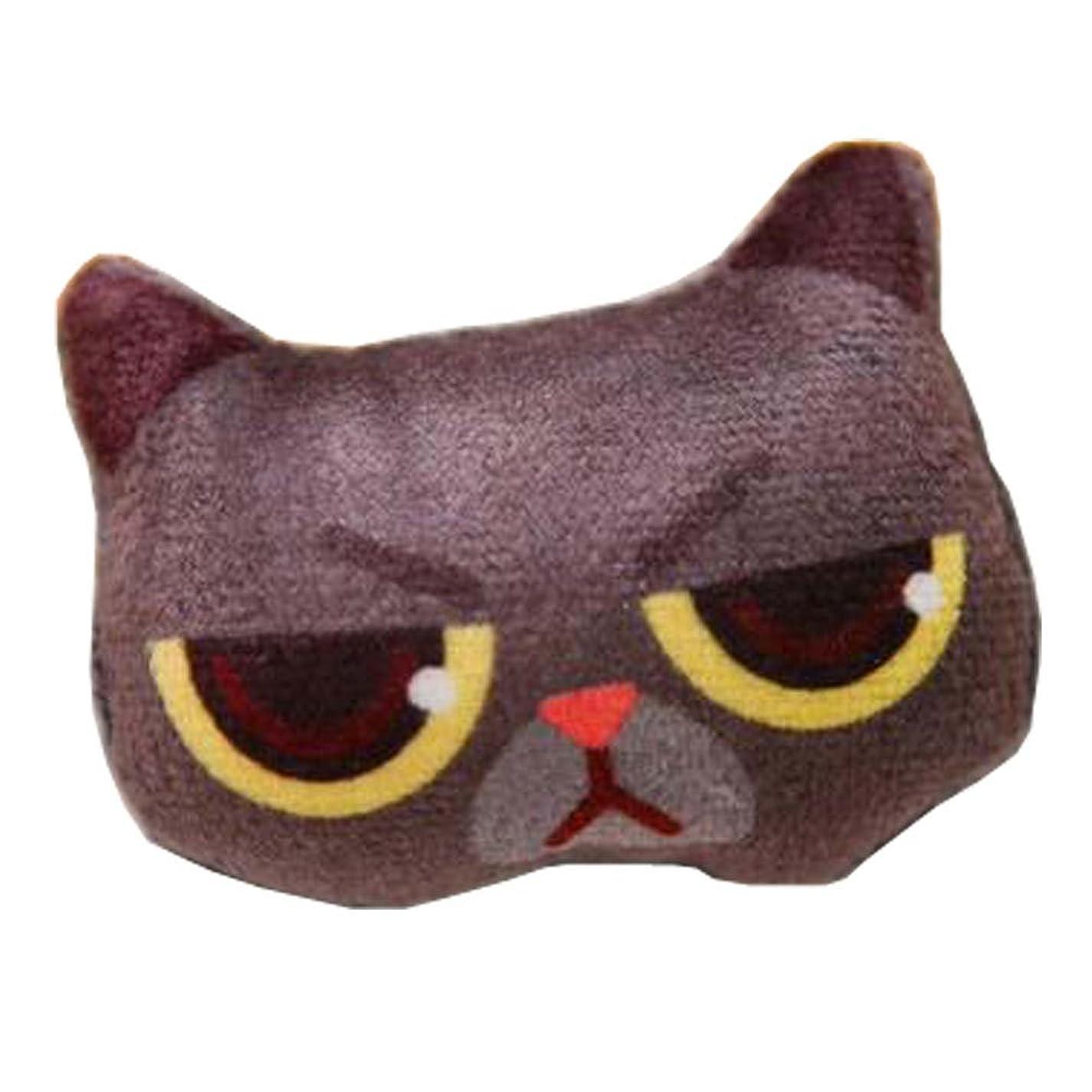 資格情報大脳スラックファニーブローチ/ラブリーバッグ装飾品/猫模様衣類アクセサリー