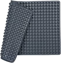 Silicone Baking Mat Cooking Sheets,Baking Molds,For Pets Non-stick, Fat Reducing Mats for Healthy Cooking,1115.5 In. (Grey...
