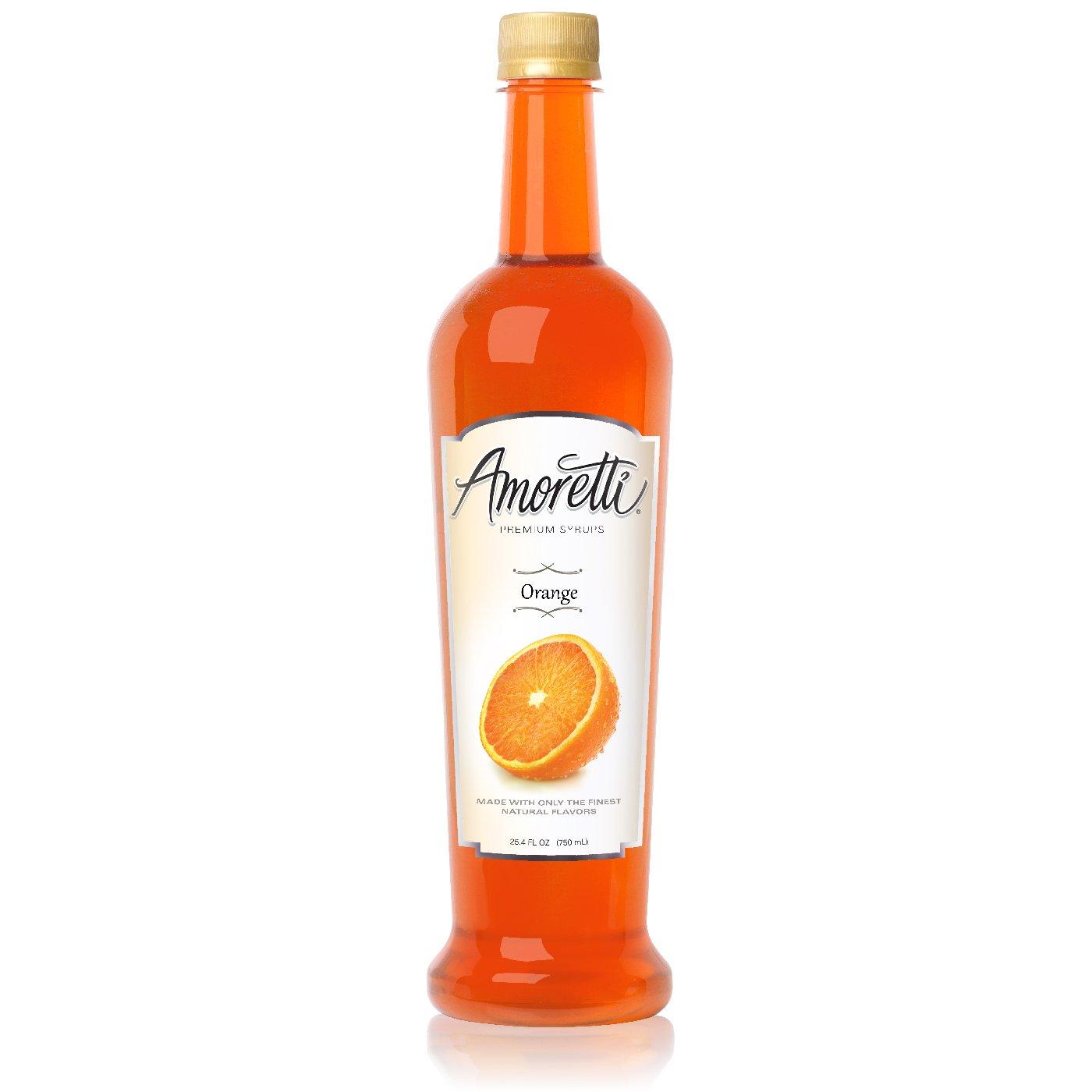 Amoretti Premium Orange Syrup (750mL)