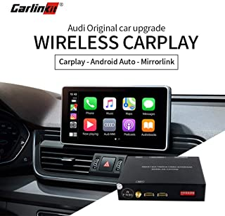 Carlinkit Wireless Carplay Android auto Retrofit Kit for Audi 2009-2017 Q5 NO MMI/ 2009-2015 A4 A5 NO MMI