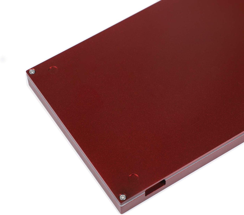 Light Gray Top Dark Gray Bottom YMDK 67 Keys Minila Layout QMK Anodized Aluminum Case Plate hot-swappable Hot Swap Type C PCB Mechanical Keyboard Kit