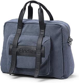 Elodie Details Skötväska Signature Edition inklusive vagnsfästen och skötbädd- Tender Blue, Blå