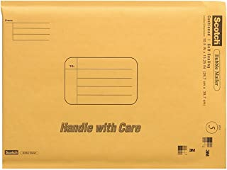 Scotch Bubble Mailer, 10.5 x 15.25-Inches, Size #5, 25-Pack