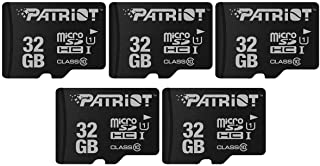 LX Series Micro SD Flash Memory Card 32GB 5 Pack