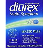 DIUREX Water Pills 22 Each (Pack of 4)