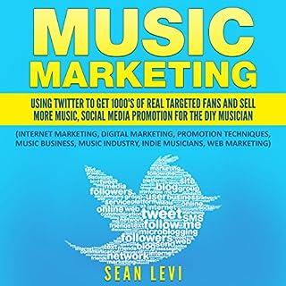 Music Marketing audiobook cover art