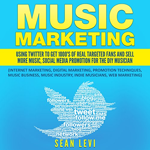 Music Marketing audiobook cover art