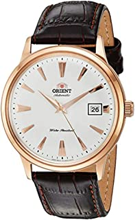 Orient '2nd Gen Bambino Version I' Japanese Automatic Stainless Steel and Leather Dress Watch