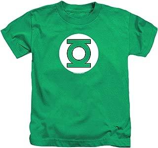 Juvenile Green Lantern Logo T Shirt & Stickers