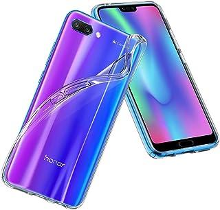 【Spigen】 スマホケース Huawei Honor10 ケース TPU 全面 クリア 超薄型 超軽量 にじみ防止 リキッド・クリスタル (クリスタル・クリア)
