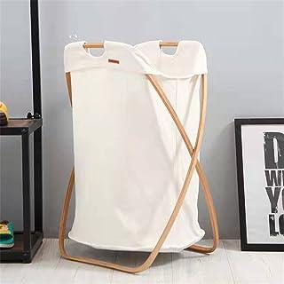 TLJF Oxford Panier de rangement pliable pour vêtements, buanderie, panier de rangement, panier pliable X-Type imperméable ...