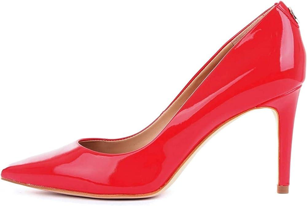 Guess décolléte bennie ,scarpe con il tacco a spillo per donna,pelle,ecopelle FL5BE7PAF08