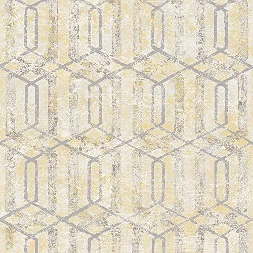 Papel de Parede, Edantex, Amarelo