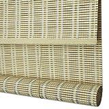 TH26 Bambus Vorhang - Partition Balkon Teestube Bambus-Vorhang Verschlussvorhang chinesischer...