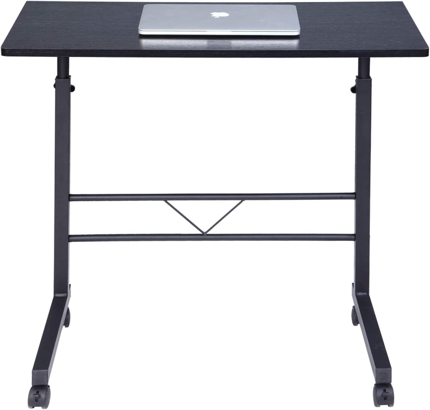 NEW before selling Large-Size Portable Multi-Purpose Computer Desk Direct store - Beech Baffle C