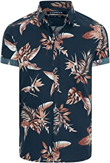 Connor Men's Columbus Slim Shirt Short Sleeve Slim Tops Sizes XS-3XL Affordable Quality with Great Value