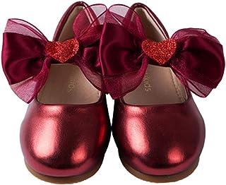 ContiKids 女童花朵玛丽珍芭蕾舞平底鞋(幼儿/小童)