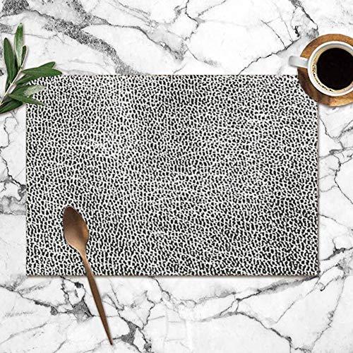Tommy Warren Manteles Individuales, Textura de Recubrimiento Apenada Cuero Natural Texturas abstractas...