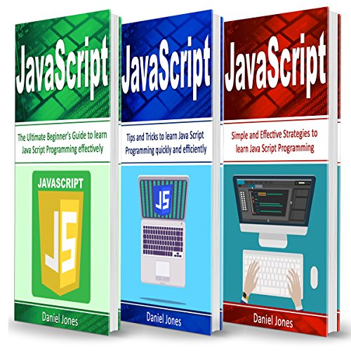 JavaScript: 3 Books in 1  By  cover art