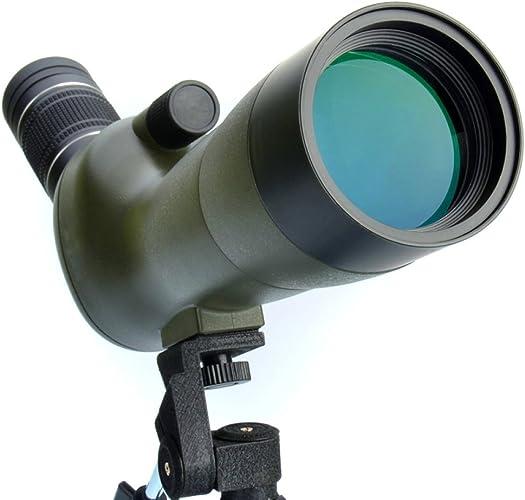 ZHH Zoom Voir Miroir à Oiseaux - Télescope binoculaire Haute Puissance - Vision Mobile Portée Vision Nocturne 1000 60 Fois Non-300,A,télescope