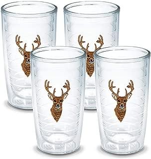 Tervis Deer Tumbler (Set of 4), 16 oz, Clear - 1013416