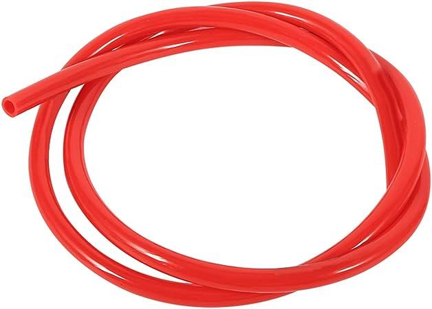 Benzinschlauch Transparent 1m Ø 4 5mm Rot Baumarkt