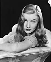 CANVAS ON DEMAND Wall Peel Wall Art Print Entitled I Married A Witch, Veronica Lake 40