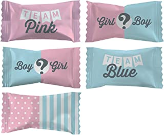 Party Sweets Baby Reveal Buttermints by Hospitality Mints, Appx 300 mints, 7-Ounce Bags (Pack of 6)
