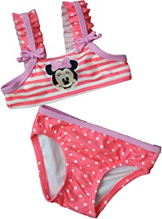 22c4e14167 Minnie Mouse Infant Toddler Girls Disney Stripe Polka Dot 2-Piece Swimming  Suit