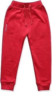 CUNYI Little Boys Cotton Active Jogger Pants